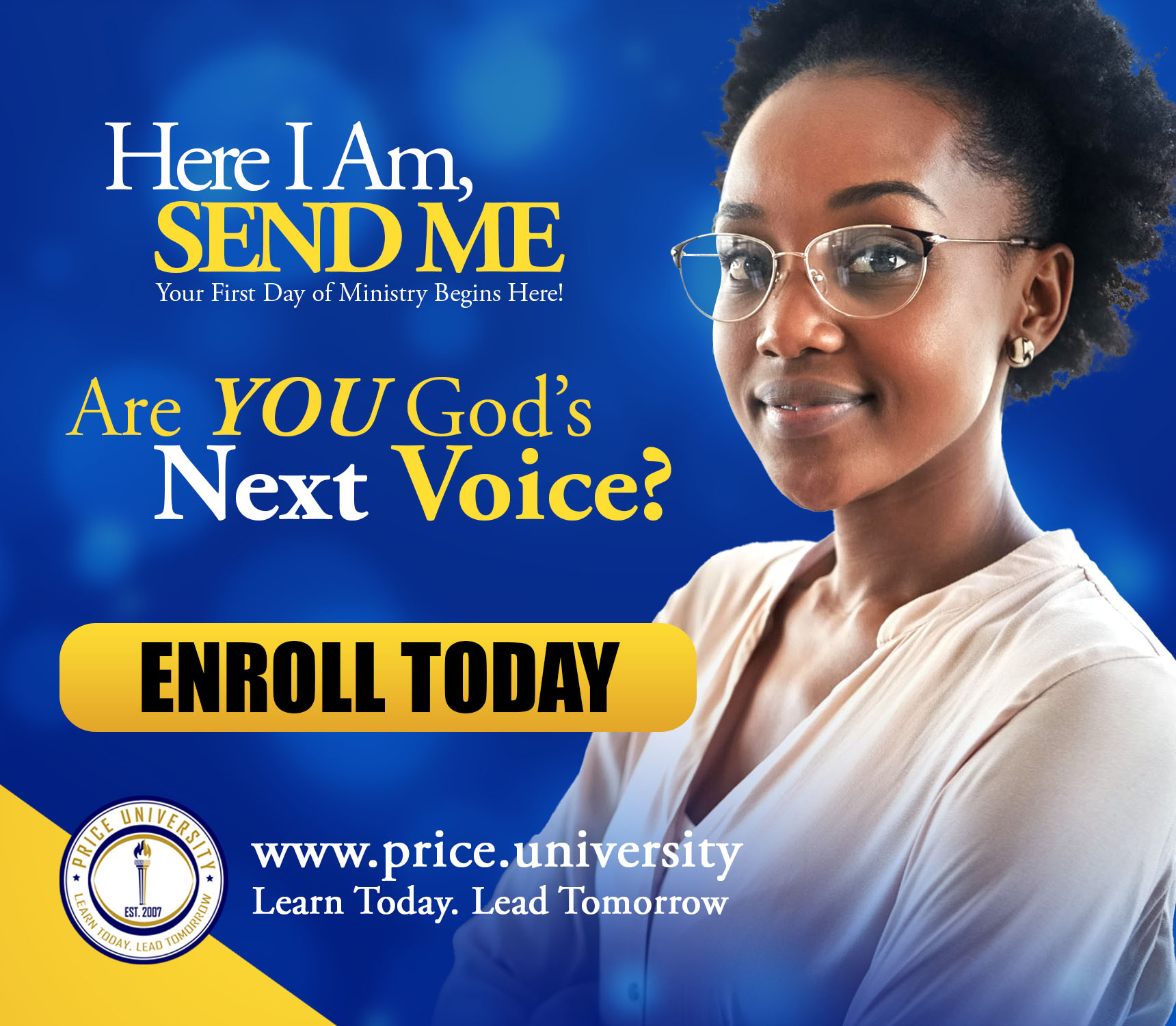 Price University ENROLL TODAY