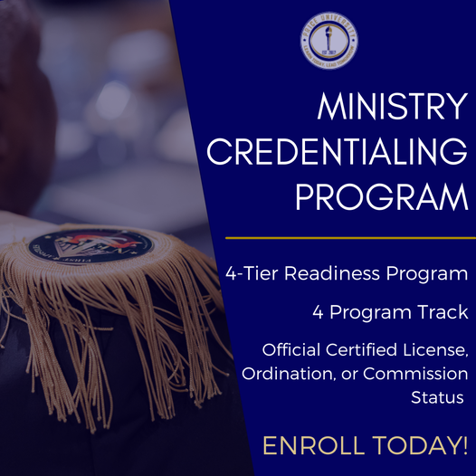 Ministry Credentialing Program